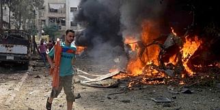 Şam'ın Duma ilçesine saldırı!