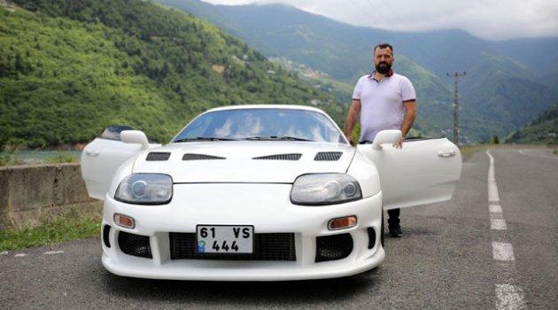 126 bin liraya aldığı spor aracı 700 bin liraya modifiye etti