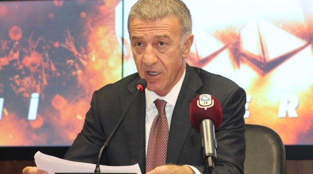 Ahmet Ağaoğlu: Trabzonspor'un borcunu 928 milyon TL'ye düşürdük
