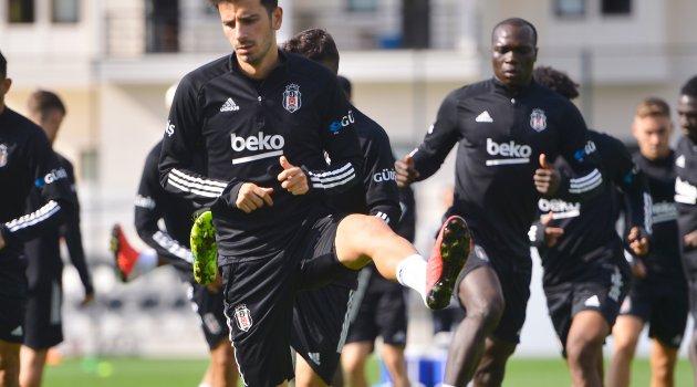 Beşiktaş, Denizlispor maçı hazırlıklarını sürdürdü