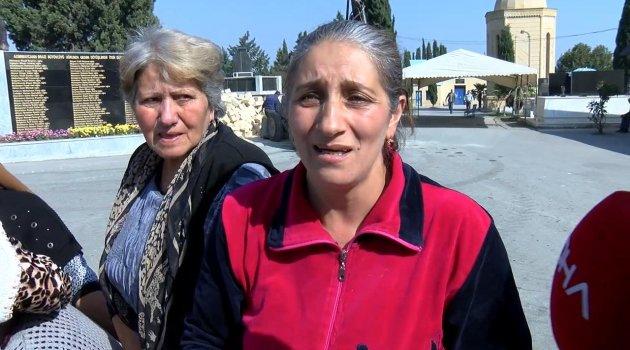 Gence'deki saldırıda sevdiklerini kaybeden halk Ermenistan'a öfke kustu