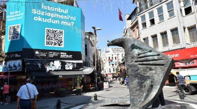 İstanbul Sözleşmesi projesine ödül