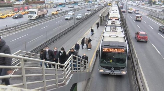 "İstanbul'da ""Kademeli Mesai"""