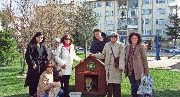 Kent Konseyi Hayvan Hakları Grubu'ndan Teşekkür Ziyareti