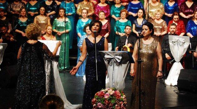 '105 kadından 105. konser'