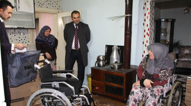 Engelli kadını sevindiren 'ceza'