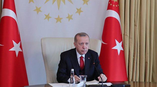 Erdoğan: Adalet ve hakkaniyeti savunan tüm ülkeleri Azerbaycan'a destek olmaya bekliyoruz