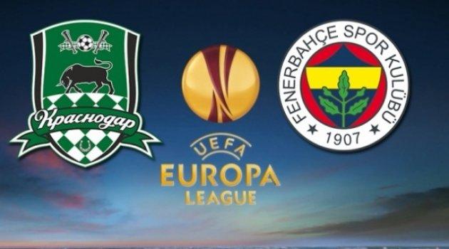 Fenerbahçe Krasnodar maçı hangi kanalda? FB Krasnodar maçı saat kaçta?