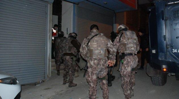 İstanbul Pendik'te narkotik operasyonu