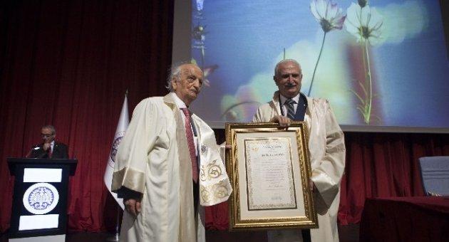 Prof. Dr. Fuat Sezgin Fahri Doktora Diploma Töreni