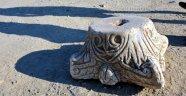 Deniz kenarında tarihi eser bulundu