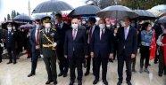 Trakya'da 29 Ekim coşkusu, yağmur altında kutlandı
