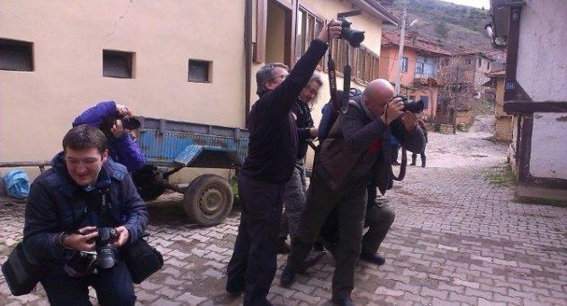 Tarihi Köye Fotoğrafçı Akını