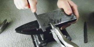 Çividen Minyatür Kılıç Yapmak